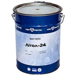 Смазка Литол 24 KSM Protec ведро 17 кг (KSM-L2417)