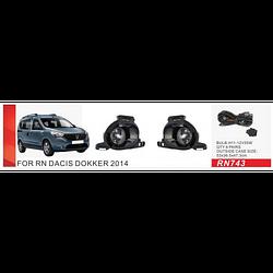 Фары доп.модель Renault Dockker 2014-/RN-743W/электропроводка (RN-743W)