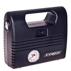 Компрессор COIDO 2702 (300psi) манометр/фонарь (AC 2702)