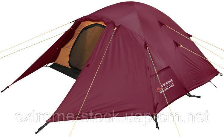 Палатка Terra Incognita Baltora 4 Alu Вишневый