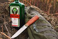 Нож охотничий Скиннер 1 ручной работы, с кожаным чехлом в комплекте, солидный подарок мужчине