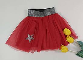 Пышная юбка из фатина разных цветов для девочки 2-9 лет