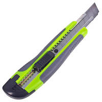 Alloid. Нож пластик/резина с выдвижным сегмент. лезвием 18мм (НП-1894)