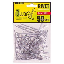 Alloid. Заклепка алюминиевая 4,0х19,0мм, 50шт (RA-40190)