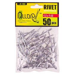 Alloid. Заклепка алюминиевая 4,8 х 9,6мм, 50шт (RA-4896)