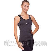 Майка спортивная компрессионная женская Under Armour, фото 2
