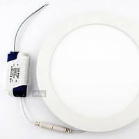 Точечный светодиодный светильник DownLight 18W круглый Белый