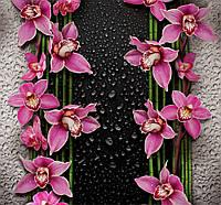 Фотообои на бумажной основе Ника Малиновые орхидеи 210х196 см 2000000454078