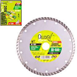 Диск алмазный отрезной Turbo Alloid DS-7180T