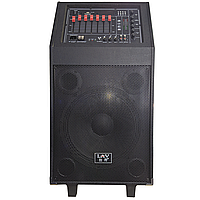 Акустическая система LAV P-12 200 Вт музыкальная Bluetooth\USB\TF микрофон и пульт управления в комплекте (2573-6988)