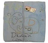 """Одеяло конверт велсофт """"Слоненок"""""""