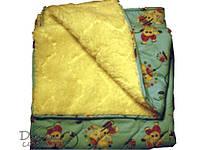 Одеяло-Плед овчина мех стеганное Артикул 320.0