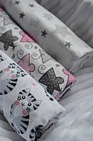 Муслиновые пеленки для новорожденных (3шт)