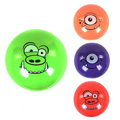 """Мяч резиновый С 37845 (300) 4 цвета, размер 9"""", вес 70 грамм - 6900067378453 C37845"""