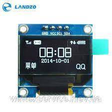 Модуль 0.96 inch IIC Serial White OLED Display Module 128X64 I2C SSD1306 12864  Подробности: Color Yellow Blue