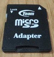 Переходник-адаптер Team для карты памяти micro SD на SD