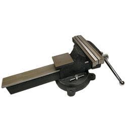 Тиски слесарные поворотные 250мм (57603)