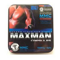 Препарат для повышения потенции MaxMan V Максмен 5 Упаковка - 8 капсул