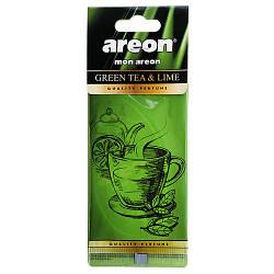 "Осв.воздуха AREON сухой листик ""Mon"" Зеленый чай+лайм (МА 00)"