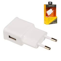 Зарядное устройство Grand-X CH-765W USB 5V 1A White с защитой от перегрузки (CH-765W)