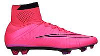 Бутсы футбольные Nike Mercurial superfly FG 641858-660