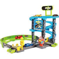 Игровой набор серии GoGears «Скоростной подъем» (гараж 3 уровня, 1 машинка c инерц. механизмом)