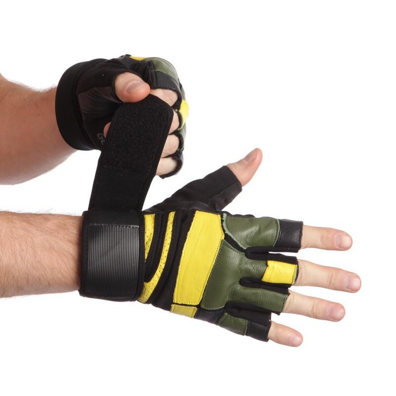 Перчатки для тяжелой атлетики MARATON AI041060