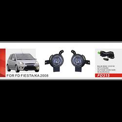 Фары дополнительные модель Ford Fiesta 2006-08/КА 2008-/FD-315-W/эл.проводка