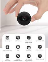 Мини-камера FullHD A10 (WiFi) p2p, IP, сигнализация, ночная съемка - ORIGINAL