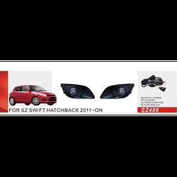 Фары дополнительные модель Suzuki Swift 2011-/SZ-486W/эл.проводка