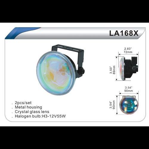 Фары дополнительные DLAA 168 ХBL/H3-12V-55W/D=90mm