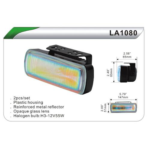 Фары дополнительные DLAA 1080 W/H3-12V-55W/147*51mm