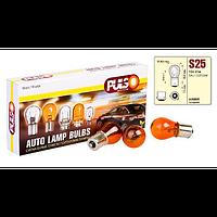 Лампа PULSO габаритная S25, BAU15s, PY21W 12V/21W amber, поворот, 1 конт.