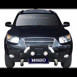 Hyundai Santa Fe 2007-2013 защита перед.бампера метал.A130306 (A 130306/W)