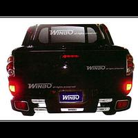 L200 2006-2015 защита задн.бампера метал.