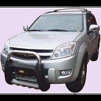 Great Wall Hover H3 2005-ON защита перед.бампера пластик HO-A002 (HO-А002/P)