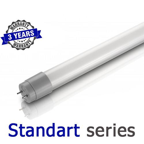 Светодиодная линейная LED лампа T8 G13 18Вт 1200 мм 4000-4500K/6000-6500K серия Standart
