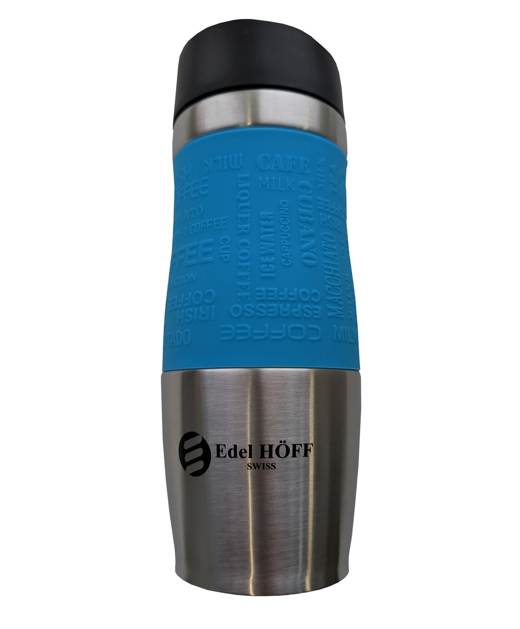 Термокружка EdelHoff EH-5314 (380 мл) - Синяя