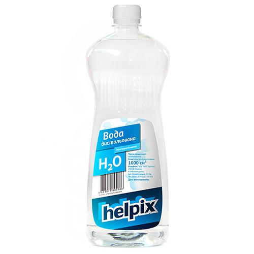 Вода дистилированная HELPIX 1л 0186