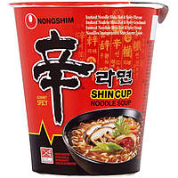 Суп в стакане Шин Рамен Nongshim острый 68г