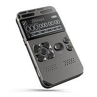 Диктофон цифровой профессиональный с активацией голосом Hyundai E-188, память 8 Гб, SD карты до 64 Гб, MP3