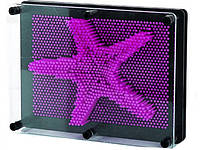 3D игрушка антистресс гвозди скульптор Pinart Отпечаток руки фиолетовый