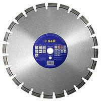 Круг алмазный сегментный S&R ПРОФИ 350x25.4 бетон Standar cуx/мокр (242471350)