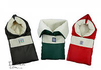 "Конверт-одеяло трансформер на овчине ""Микки"" в коляску и санки 95*95 (на овчине)"