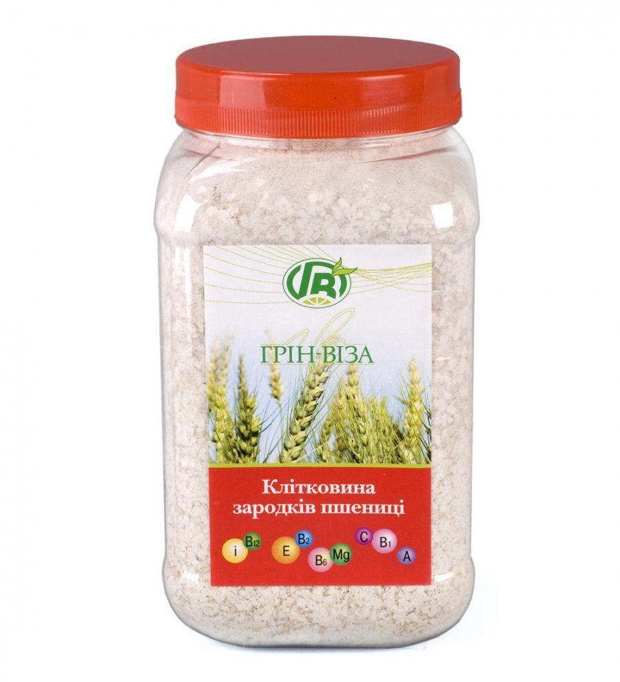 Клетчатка зародышей пшеницы (пищевые волокна), Грин Виза, 300 г
