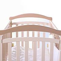 Детская кроватка Верес Соня ЛД-3 без ящика Капучино 03.1.1.1.10 ТМ: Верес