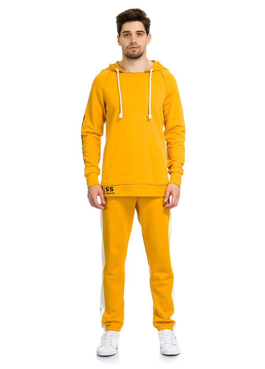 Худи мужское Theroux  горчичного цвета