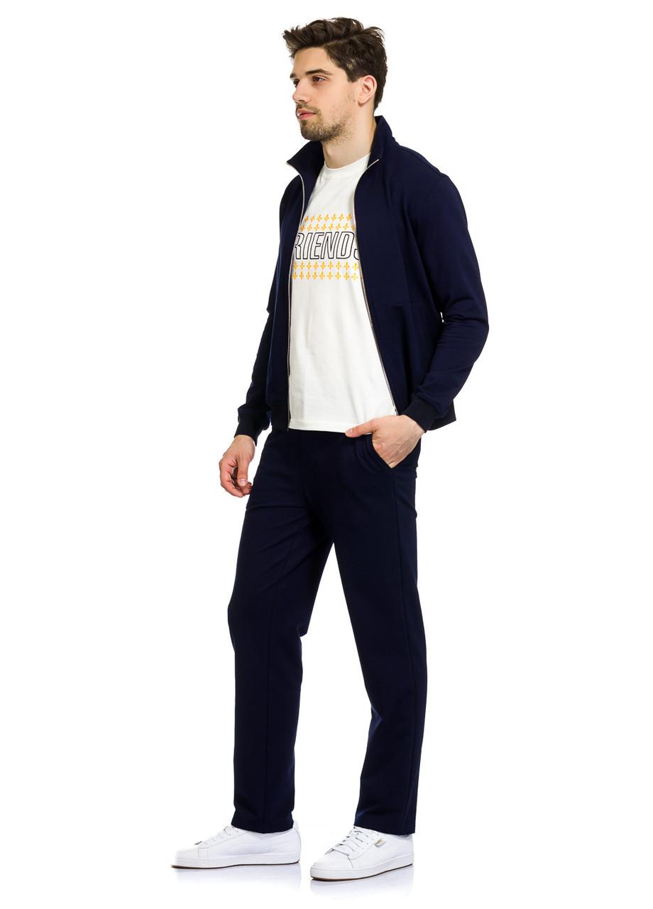 Кофта мужская Bennet синего цвета