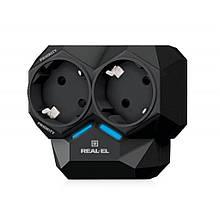 Сетевой фильтр REAL-EL AR-01 черный