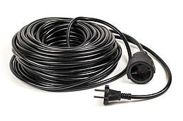 Удлинитель PowerPlant JY-3021/30 1 розетка 30m черный